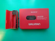 SONY WM-EX66 Cassette Player Walkman, Red! From Personal Collection