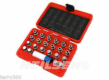 23pc VAG Wheel Lock Socket Set FOR REMOVING VW/AUDI LOCKING WHEEL NUTS . 4006-WW