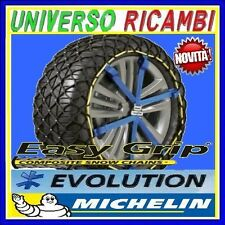 CATENE NEVE MICHELIN EASY GRIP EVOLUTION EVO 14 X PNEUMATICI  225/70R16 ESAURITI