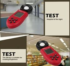 New 200,000 Digital Light Meter Luxmeter Lux/FC Luminometer Photometer Measure