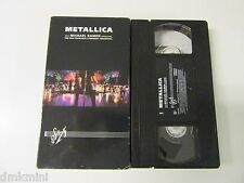 METALLICA  S&M with Michael Kamen Conducting Symphony Orchestra  _ VHS, 1999