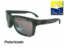 OAKLEY HOLBROOK 9102 B7 WOODGRAIN COLLECTION- PRIZM DAILY POLARIZZED