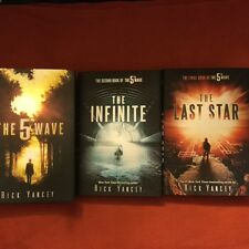 SIGNED RICK YANCEY The 5th Wave,The Infinite Sea,The LAST STAR  HC 1ST/1ST+XTRAS