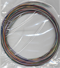 New 50m stranded 30AWG 7/0.1mm Equipment Hook-up (alpha) Wire: 10 colours