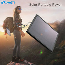 YFW 12000mAh USB Solar Panel Power Bank External Battery for Cell Phone Charger