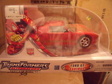 Hasbro Transformers Alternators SDCC Hot Rod Rodimus Comic Con 2007 Wing Gundam