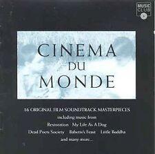 Audio CD Cinema Du Monde: 16 Film Masterpieces (Film Score Compilation) - Variou