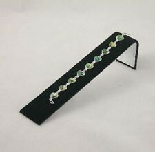 Pack of 4 Black Velvet Bracelet Watch Shop Display Ramps Jewellery Presentation