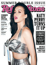 Rolling Stone Magazine # 1134/1135 Katy Perry Cover July 7 - 21 2011