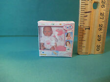 Barbie 1:6 Furniture Miniature Toy Baby Doll Box for Kelly Toyroom Playroom bb