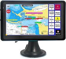 "NAVIGATORE GPS PLOTTER CARTOGRAFICO NAUTICO Blue 7,0"" con cartografia"