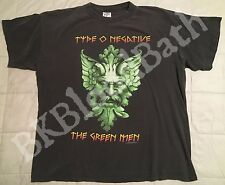 1997 Type O Negative T-Shirt XL Green Man Vtg October Rust Tour peter steele