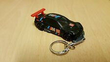 Diecast BMW M3 GT2 Black Toy Car Keyring Keychain NEW