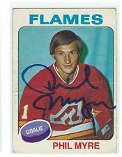 Phil Myre Signed 1975/76 O-Pee-Chee Card