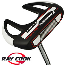 """NEW 2016"" RAY COOK SILVER RAY SR400 35"" SPIDER PUTTER +HEADCOVER & MIDSIZE GRIP"