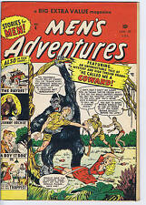 Men's Adventures #4 Bell Features CANADIAN EDITION