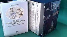 STORIA DELLA LETTERATURA ITALIANA 4 VOLUMI FERRONI EINAUDI