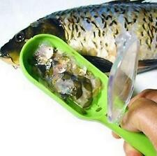 CB147 Home Kitchen Supply Scraping the Fish Scales With Cover Planing Tool 1pc:)