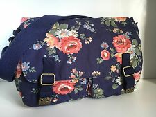 CATH KIDSTON ❤️ KENTISH ROSE ❤️ SADDLE SATCHEL CROSS BODY  ❤️ COTTON BAG