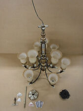C134-6446-9-16 9 Light Chandeliers Fixture Antique Look