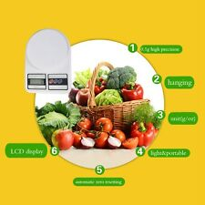 5kg 5000g/1g Digitale Küchenwaage Digital Küche Scale Waage Kitchen Waagen LCD