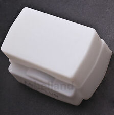 Silicone White Flash Dome Diffuser for Nissin Di866 360tw pz400 Sunpak 2000DZ