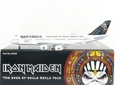 Hogan Wings Iron Maiden Boeing 747-400 1:400 Registration TF-AAK (40090)