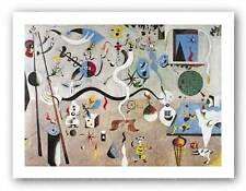 SURREAL ABSTRACT ART PRINT Carnival by Joan Miro