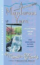 Needlecraft Mystery: A Murderous Yarn 5 by Monica Ferris (2002, Paperback)