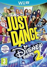 Just Dance Disney Party 2 ~ Wii U ~ Nuevo Y Sellado ~ Reino Unido