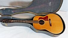 Hohner Gruhn Design D-1 Acoustic Electric Guitar with Hard Case