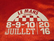 LEMANS LE MANS CLASSIC 2016 DECAL STICKER STATIC CLING GLASS