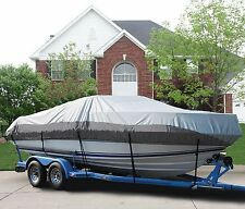 GREAT BOAT COVER FITS XPRESS (ALUMAWELD) 24 IDLE TIME PONTOON O/B 1994-1994