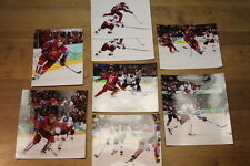 Lot of 10 Russia Olympic hockey 8x10 photographs Ovechkin, Malkin, Kovalchuk