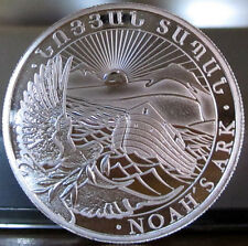 (2) 2013 1/2 oz. Silver Armenia 200 Drams NOAH'S ARK Coin Uncirculated