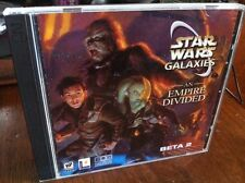 Star Wars Galaxies An Empire Divided - Beta2 - PC Game - Rare / Collectible