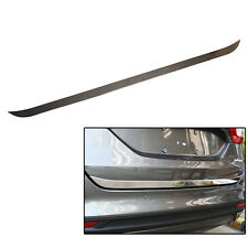 Fit For 2013- Ford Fusion Mondeo Chrome Rear Trunk Back Door Edge Cover Trim Lid