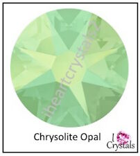 Chrysolite Opal Green 34ss 7mm 6 pieces ss34 Swarovski 2058 Flatback Rhinestones