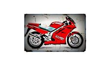 1991 rc36 Bike Motorcycle A4 Photo Poster