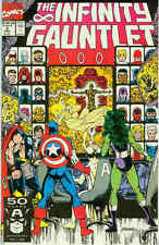 Infinity Gauntlet # 2 (of 6) (George Perez, 52 pages) (USA, 1991)