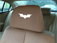 BATMAN LOGO Car Seat Poggiatesta / - BADGE-VINILE ADESIVI-GRAFICA X5
