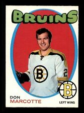 1971-72 O-Pee-Chee #176 Don Marcotte  EX/EX+  X1006405