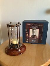 Bronzed 30 Minute Hourglass 5.25'' x 3.25'' by Authentic Models