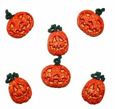 "Jesse James It Up Buttons ""Glitter Pumpkins"" # 4859 Flat Rate Shipping"