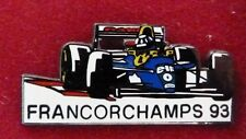 RARE PIN'S F1 FORMULA ONE WILLIAMS CANON DAMON HILL GP CIRCUIT FRANCORCHAMPS 93