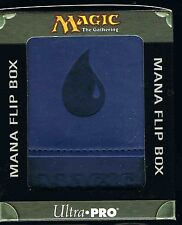 ULTRA PRO BLUE MANA  MATTE FLIP DECK BOX  MAGIC  MTG