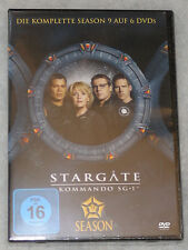 Stargate SG-1 Season 9 Nine Complete DVD Box Set - NEW & SEALED - Region 2