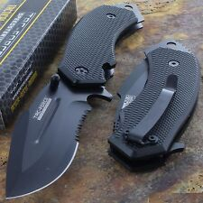 Tac Force Spring Assisted Opening LARGE TACTICAL Drop Point Pocket Knife NEW!!