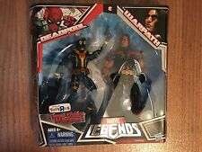 NEW SEALED DEADPOOL WARPATH action figure 2pk Marvel Legends Fans TrU VARIANT AF