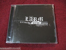 LARM Extreme Noise CD Seein Red Man Lifting Banner Coaltion discography